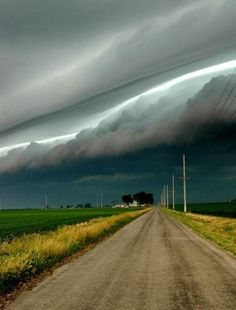 Stunning Roll Clouds