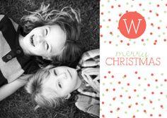 Mixbook Holiday Dots Christmas Cards