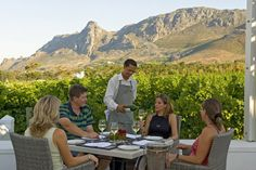 Wine pairing at the Steenberg in Cape Town, just 20 minutes from the city.