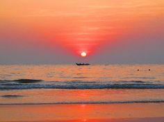 Sunset Agonda Paradise