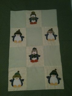 """penguins"" (patchwork)"
