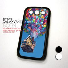 Up Flaying House Pixar Animation design for Samsung Galaxy S3 Case