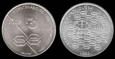 1000 escudos, prata, 1997