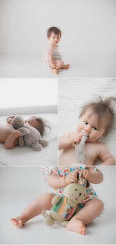 sweet older baby session by Kristen Cook; see all in blog post!