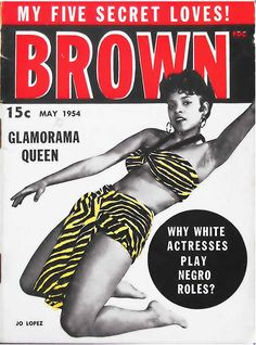 """Brilliant Collection of Vintage African American Magazines. """""""