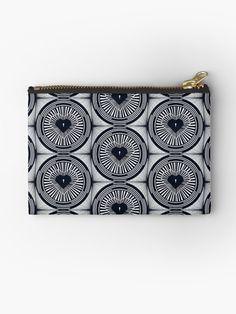 """""""The Vault"""" Zipper Pouch by Asmo Turunen. #design #zipperpouch #canvaspouch #kangaspussi #meikkipussi #atcreativevisuals"""