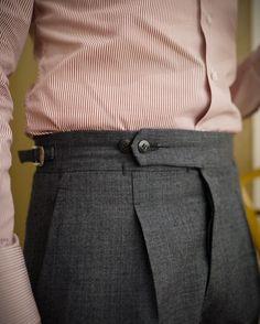 Pictoturo - lastandlapel:   Our Last & Lapel Napoli trousers...