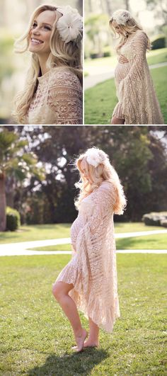 This WHOLE SHOOT is inspiration for our shoot - soft - beautiful - bright - LOVE her hair pieces! Could be a fun prop to add!