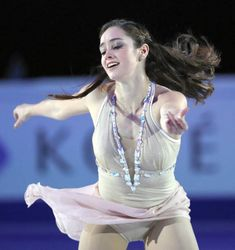 Kaetlyn Osmond of Canada performs in the gala exhibition during day five of the World Figure Skating Championships at Hartwall Arena on April 2017 in Helsinki, Finland. Get premium, high resolution news photos at Getty Images Gymnastics Poses, Sport Gymnastics, Kaetlyn Osmond, Nba Cheerleaders, Little Girl Models, World Figure Skating Championships, Cute Japanese Girl, Viral Trend, Sport Girl