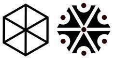 Symbole du dieu slave de la foudre Piorun, gravé sur les toits des maisons pour éviter d'être frappé par leur dieu.