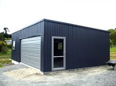 Best Ranbuild Deluxe Garage With Horizontal Corrugated Cladding 400 x 300