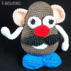 Patrón Mr Potato amigurumi