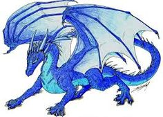 Saphira the blue dragon Clay Dragon, Dragon Art, Fantasy Story, High Fantasy, Eragon Saphira, Reptiles, Chromatic Dragon, Inheritance Cycle, Got Dragons