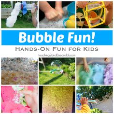 Bubble Fun for Kids - Teaching 2 and 3 year olds