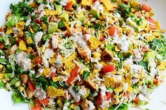 16 pioneer woman recipes you can make in 16 minutes pioneer woman chicken taco salad forumfinder Gallery