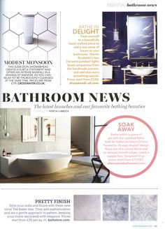 The new Derwent pendant lights from Drummonds boast uniqueness from the handmade process.  https://www.drummonds-uk.com/ Essential Kitchen Bathroom Bedroom September 2017