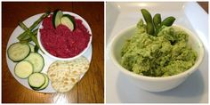 HEALTHY HUMMUS (Roasted Beet and Pea and Edamame) Healthy Hummus, Edamame, Beets, Roast, Fresh, Ethnic Recipes, Food, Essen, Yemek