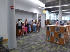 Self service is popular @ Dayton (OH) Metro Library