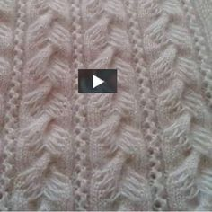 This is an interesting pattern stitch...