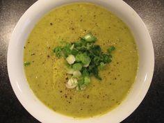 Courgette, Leek & Asparagus Soup – GF, Vegan