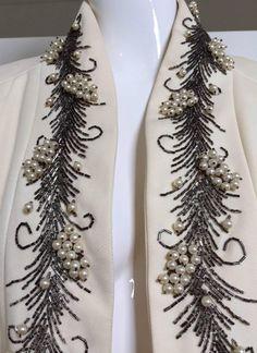 Lilli Ann - Manteau - Broderies de Perles - Années 50
