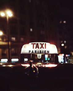 Taxi life in Paris. Paris Photos, Parisian Chic, France Travel, Summer Vibes, Countryside, Instagram Posts, Instagram Summer, World, City