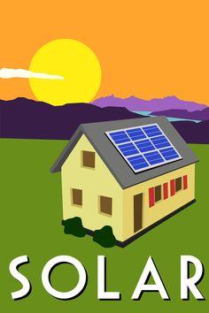 Alternative Energy Posters by Amanda Duck, via Behance