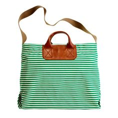 The Bungalow Stripe Caravan Mailbag - ACCESSORIES - Women's Madewell_Shop_By_Category - Madewell