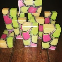 """""""""""Up In Flames"""" - tall&skinny shimmy soap technique"""