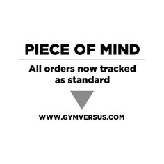 For your piece of mind and additional security we have updated our shipping options so that all orders are Tracked as standard!  For Next Day select Tracked24 for only 3.95.  For 2-3 Working Days select Tracked48 for only 2.95.  You will be notified by email/sms of the status of your shipment so you know when and where to expect delivery!  #gymversus #shapeyourfuture #activewear #luxe #sportswear #athleisure #fashion #performance #style #london #clothing #apparel #health #fitness #fit…