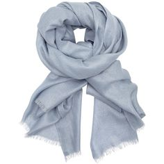 John Lewis Metallic Wool Scarf , Light Blue ($44) ❤ liked on Polyvore featuring accessories, scarves, light blue, metallic scarves, metallic shawl, woolen shawl, fringe scarves and fringe shawl