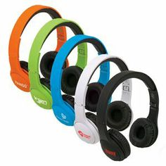 """Boompod headpods headphones  We Can ADD YOUR LOGO! Immerse yourself in your music with our adjustable headband and cushioned ear cup. Features a fold-flat design for easy storage and transport when not in use. Includes a 3.5mm audio jack. 6"""" W x 7 1/2"""" H x 2 3/4"""" D"""
