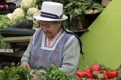 Donna al mercato a Cuenca