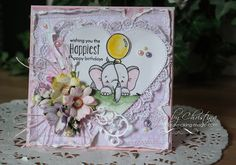 Water Color Wednesday - Sketched Elephant