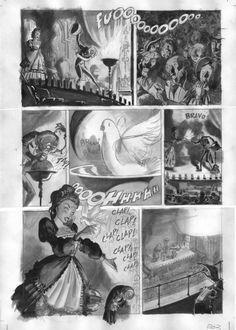 Página 3: lápiz y aguada. 300€ David Belmonte ©