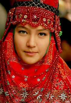uzbekistan national costume - Google Search