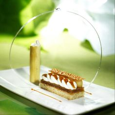 Contemporary Plated Dessert