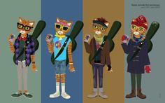 hipster-animals-anniversary.jpg (1280×800)