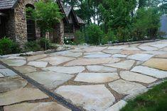flagstone driveway - Google Search