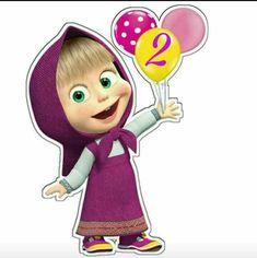 Marsha Baby Girl Birthday Theme, 3rd Birthday Cakes, Bear Birthday, Masha Et Mishka, Marsha And The Bear, Bear Party, Kids Prints, Unicorn Party, Samara
