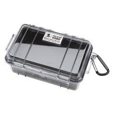 Pelican 1050 Micro Dry Case /Snorkelers/Kayakers w/ clear lid