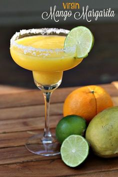 This fruity and refreshing Virgin Mango Margarita is the perfect drink to celebrate Cinco de Mayo!