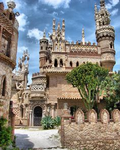 With international travel common, and citizens of different countries routinely migrating to new pla Beautiful Castles, Beautiful Places, Benalmadena Spain, Great Places, Places To See, Places Around The World, Around The Worlds, Castle House, Architecture Old