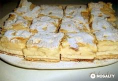 Hungarian Cuisine, Hungarian Recipes, Eastern European Recipes, Czech Recipes, Baking And Pastry, Cheap Meals, Cakes And More, Food Dishes, Sweet Recipes