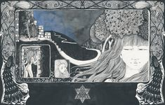 Black Books, Next Week, Klimt, Book Illustration, Fundraising, Identity, Novels, Graphic Design, Shit Happens