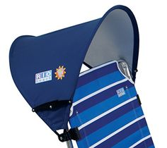 RIO Brands MY CANOPY BLUE at Lowe's. Get portable shade when you need it with the my canopy clip-on canopy. My canopy clip-on canopy and sun shade clips to your beach chair frame to provide Camping Cot, Camping Chairs, Camping Gear, Camping Outdoors, Rio Beach Chairs, Best Beach Chair, Sun Umbrella, Beach Umbrella, Portable Shade