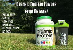 organic orgain protein powder