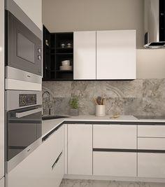 Фото из статьи: Квартира в стиле минимализм на Мичуринском проспекте: больше света, меньше цвета