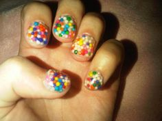 Candy Nails...Yum!
