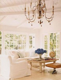 I really, really, really want french doors, white french doors to be specific.